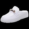 женская повседневная обувь Плоская обувь Белая обувь 998
