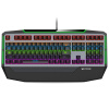 Rapoo V710 смешанный цвет игровой подсветкой механические клавиатуры игровой клавиатуры с подсветкой клавиатуры черный черный вал rapoo