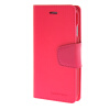 MOONCASE чехол для iPhone 6 (4.7) PU Leather Flip Wallet Card Slot Stand Back Cover Hot pink mooncase чехол для iphone 6 plus 5 5 pu leather flip wallet card slot stand back cover pink