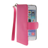 MOONCASE Fashion Style Leather Side Flip Pouch Stand Shell Back ЧЕХОЛДЛЯ Apple iPhone 6 ( 4.7 inch ) Hot pink jeans cloth card holder stand pu leather shell for iphone 6s 6 4 7 inch pink