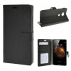 все цены на MOONCASE Huawei Ascend G8 ЧЕХОЛ ДЛЯ Flip Wallet Card Slot Stand Leather Folio Pouch Black 02