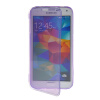 MOONCASE Flip Wallet Soft Gel TPU Silicone Back Shell ЧЕХОЛ ДЛЯ Samsung Galaxy S5 I9600 Purlpe mooncase soft silicone gel side flip pouch hard shell back чехол для samsung galaxy s6 white