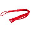 Секс бондаж см роскошный Красный Флоггер дразня плетеный Кнут порка бондаж Фетиш Фэнтези ограничения-470002