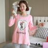 Бейджи Ронг весной и осенью 3883 беременных женщин месяц службы Буру Yi кормления одежду для беременных женщин после родов у женщин хлопка пижамы костюм спортивный костюм Цветочные L товары для беременных