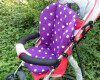 mymei коляску место коляске коврик подушки Purple хлопок детской ребенка куплю любую рэтро коляску ссср