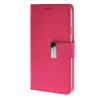 MOONCASE чехол для Samsung Galaxy E5 Flip Leather Wallet Card Slot Bracket Back Cover Hot pink mooncase чехол для asus zenfone 5 flip leather wallet card slot bracket back cover hot pink