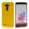 MOONCASE Hard Rubberized Rubber Coating Devise Back чехол для LG G3 Yellow lg g3 s