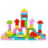 Новые деревянные игрушки для детей 50pcs Красочные деревянные детские игрушки для детей игрушки для детей