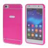 MOONCASE Huawei 6 Случай 2 В 1 жесткий бампер вставить обложка чехол для Huawei Honor 6 ярко-розовый mooncase huawei 6 случай 2 в 1 жесткий бампер вставить обложка чехол для huawei honor 6 черный