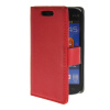 MOONCASE Slim Leather Flip Card Pouch with Kickstand Shell Back ЧЕХОЛ ДЛЯ Samsung Galaxy Trend Lite S7390 S7392 Red чехол для samsung s7392 galaxy trend partner flip case black