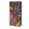 MOONCASE Flower style Leather Side Flip Wallet Card Slot Stand Pouch чехол для Wiko Ridge 4G a08 механизм сливной alca plast a08