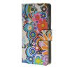 MOONCASE Flower style Leather Wallet Flip Card Slot Stand Pouch чехол для Huawei Ascend P8 lite A01 mooncase flower style leather side flip wallet card slot stand pouch чехол для huawei ascend y635 a01