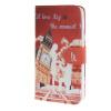 все цены на MOONCASE Patterned Leather чехол для Wallet Flip Card Slot Stand Back Cover Microsoft Lumia 640 XL a02 онлайн