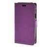 MOONCASE Лич кожи Кожа Флип кошелек Слот для карты отойти чехол для Samsung Galaxy Xcover 3 G388F фиолетовый mooncase лич кожи кожа флип кошелек слот для карты отойти чехол для huawei ascend y635 фиолетовый