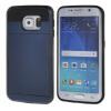 все цены на MOONCASE ЧЕХОЛДЛЯ Samsung Galaxy S6 Edge Soft Silicone Gel TPU Skin With Card Holder Protective Sapphire онлайн
