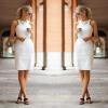 Lovaru ™ 2015 Летний стиль женщин моды платье без рукавов мини о-образным вырезом высокое качество Мягкие и удобные платья свободное платье с v образным вырезом marni платья и сарафаны мини короткие