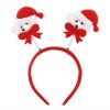 головные уборы gas глава 1pcs рождество несут праздничный красного двойной головные уборы шляпу / из декора