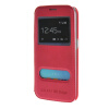 MOONCASE Samsung Galaxy S6 Edge чехол для View Leather Flip Pouch Bracket Back Cover Hot pink mooncase samsung galaxy a7 чехол для view leather flip pouch bracket back cover pink