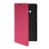 MOONCASE Slim Leather Side Flip Wallet Card Slot Pouch with Kickstand Shell Back чехол для Nokia Lumia 535 Hot pink mooncase slim leather side flip wallet card slot pouch with kickstand shell back чехол для nokia lumia 535 mint green