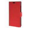 MOONCASE Vivid colors Leather Wallet Card Slot Bracket Back чехол для BlackBerry Leap Red blackberry leap