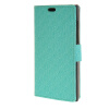MOONCASE Maze grid Style Wallet Leather Card Slot Bracket Back чехол для BlackBerry Leap Green
