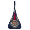 Китайский стиль крупных женщин сумки цветок этнических вышитые сумки ручной работы вышитые сумки женщин сумки посыльного плеча сумки бренда