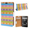 MOONCASE Sony Xperia Z5 Compact ( Z5 Mini ) ЧЕХОЛДЛЯ Flip Leather Foldable Stand Feature [Pattern series] /a01 стоимость