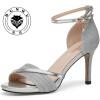 женские туфли на высоком каблуке Повседневная женская обувь Дышащие женские сандалии Модные женские туфли 81004