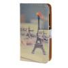 MOONCASE ЧЕХОЛ ДЛЯ Microsoft Lumia 532 Eiffel Tower Pattern Leather Flip Wallet Holder with Kickstand Back A09