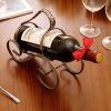[супермаркет] Jingdong Европа Юна Чжэ творческой твист проволока винной стойки винные шкафы