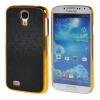 MOONCASE Galaxy S4 Дело Золото Chrome Шкала фильмы стиль Твердый переплет чехол для Samsung Galaxy i9500 S4 черный батарея для galaxy s4