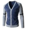 zogaa мужской свитер модного цвета нового корейского zogaa мужской свитер модного цвета нового корейского