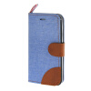 MOONCASE iPhone 5 / 5S , Leather Wallet Flip Card Holder Pouch Stand Back ЧЕХОЛ ДЛЯ Apple iPhone 5/ 5S Blue musubo magnetic split leather wallet stand shell for iphone se 5s 5 blue