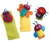 Ребенка игрушка в подарок 4шт Набор Сад Буг Би наручные Погремушки + Foot Носки биогазовую установку буг 1