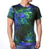 Мода Мужские O-образным вырезом Геометрические шаблон печати Пуловер футболки пуловер