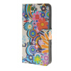 MOONCASE Flower style Leather Wallet Flip Card Slot Stand Pouch чехол для Huawei Ascend Y600 A01