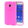 MOONCASE Transparent Soft Flexible Silicone Gel TPU Skin Shell Back ЧЕХОЛ ДЛЯ Samsung Galaxy Core Prime G360 Hot Pink mooncase transparent soft flexible silicone gel tpu skin shell back чехол для samsung galaxy grand prime g530 black