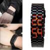 Вулканические безликих безликих наручные часы Лава 2 цвета мода 1шт черный Браслет amorem браслет лава