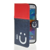 MOONCASE Leather Side Flip Wallet Card Slot Pouch Stand Shell Back ЧЕХОЛ ДЛЯ Samsung Galaxy S5 I9600 Red Blue mooncase leather side flip wallet card slot pouch stand shell back чехол для samsung galaxy core i8260 i8262 black white
