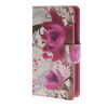 MOONCASE Flower style Leather Wallet Flip Card Slot Stand Pouch чехол для Microsoft Lumia 430 A03 luxury stand flip