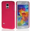 MOONCASE Hard Rubberized Rubber Coating Devise Back чехол для Samsung Galaxy S5 Mini Hot pink hama для galaxy s4 mini rubber белый 00124609