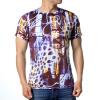Мужские геометрические выкройки O-образным вырезом 3D-печатные футболки-пуловеры пуловеры