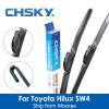 CHSKY Автомобильный стеклоочиститель для Toyota Hilux SW4 1989 г. до NOW Автомобильный стеклоочиститель Auto Windscreen Wipers car-styling автомобильный