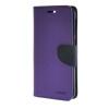 MOONCASE Cross pattern Leather Flip Wallet Card Slot Stand Back чехол для HTC One E9+ E9 Plus Purple luxury stand flip