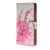 MOONCASE Plum flower style Leather Side Flip Wallet Card Slot Stand Pouch ЧЕХОЛДЛЯ Huawei Ascend P8 mooncase чехол для huawei ascend p8 wallet card slot with kickstand flip leather back white