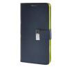 цена на MOONCASE чехол для Sony Xperia T3 Flip Leather Wallet Card Slot Bracket Back Cover Blue