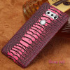 Чехол из натуральной кожи для LG V30 Case Ostrich Foot Texture для LG G3 G4 Back Cover lg g3 d855