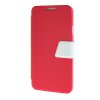 MOONCASE Galaxy Note 3 Neo N7505 , Leather Flip Bracket Back ЧЕХОЛ ДЛЯ Samsung Galaxy Note 3 Neo N7505 Hot pink White printio чехол для samsung galaxy note