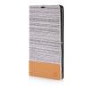 MOONCASE Canvas Design Leather Side Flip Wallet Pouch Stand Shell Back ЧЕХОЛДЛЯ Sony Xperia T3 Light Brown чехол вертикальный откидной для sony xperia t3 синий armorjacket page 5