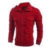 Zogga новые осенние и зимние мужские куртки, неформальная роскошь